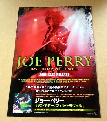2010 Joe Perry Have Guitar JAPAN album promo ad mini poster advert / aerosmith