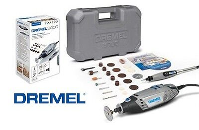 Dremel 3000 Multitool 3000-1/25 300025 EZ Series + 25 Accs.+ Flex Shaft + CHUCK