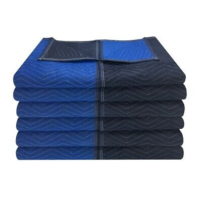 "Moving Blankets - Supreme Quality 12 Pack 72""x80"" 80# Strength"