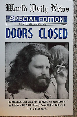 "World Daily News ""Doors Closed"" Special Edition  Poster"
