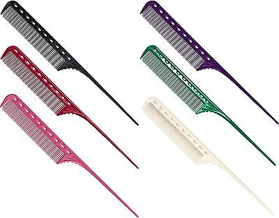 Y S Park Hairdressing Comb YS-101. Single Comb. We stock various colours