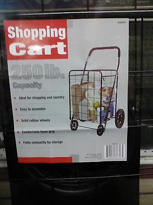 Apex Shopping Cart 250 Lb. Capacity.  NEW  #SC9014