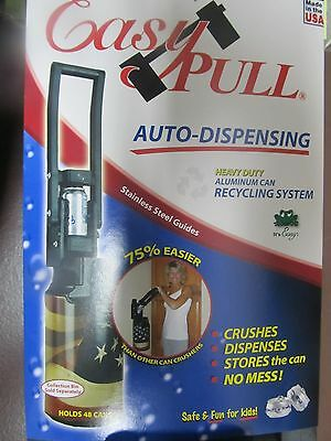 Easy Pull Aluminum Can Recycling system.  NEW