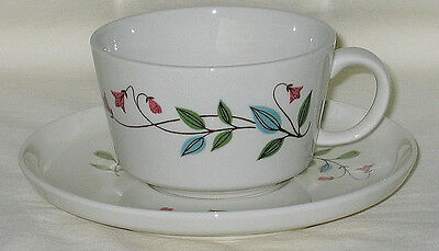 Franciscan Winsome Pattern Cup & Saucer