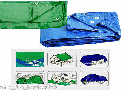Heavy Duty Tarpaulin Tarp Lightweight Waterproof Ground Sheet Cover Great Value