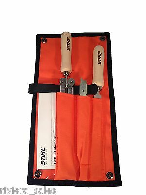 Stihl Chainsaw Sharpening/Filing Kit 5.2mm file. 56050071029 Fits 3/8 Pro Chain