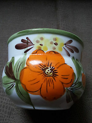 Napcoware Planter Hand Painted Made in Japan C-9642
