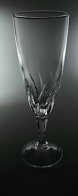 """CRISTAL D ARQUES DURAND FLAMENCO CRYSTAL FLUTED CHAMPAGNES 7 1/8"""" - SET OF 6"""