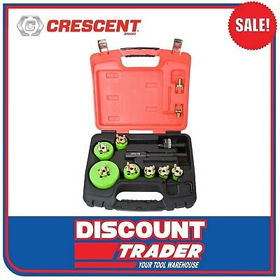 Crescent Re-Load 19 Piece Electricians Quick Change Hole Saw Set - CRLE7HD