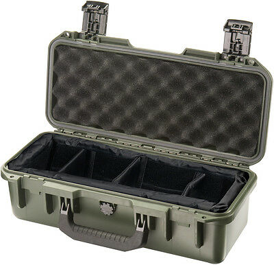 OD Green Hardigg Storm IM2306 Case with Padded  Dividers + engraved nameplate