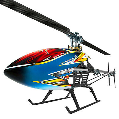CopterX CX 450 DFC Black Angel Barebone Kit Flybarless 3D RC Heli HK Ship