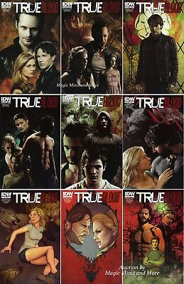 TRUE BLOOD Ongoing Series (9) Issue SET #1 2 3 4 5 6 7 8 9 IDW Comic 1st print