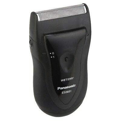 Panasonic Wet & Dry Travel Shaver ES3831 Battery Powered Portable Compact Hair