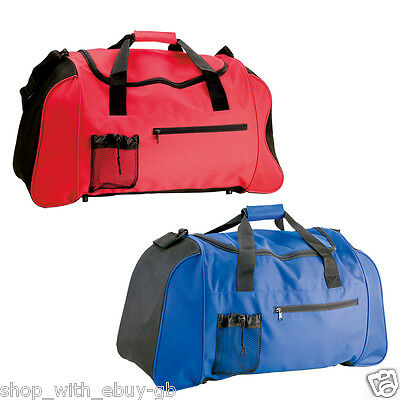 Small Sports Gym Holdall Duffel Bag - Luggage Swimming Travel Camping PE Weekend