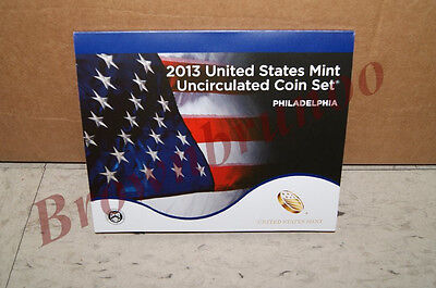 2013 P United States Mint Uncirculated Coin Set 14 Coins PHILADELPHIA Mint