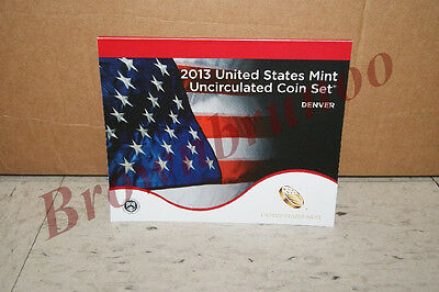 2013 D United States Mint Uncirculated Coin Set 14 Coins DENVER Mint