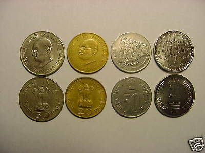 - Republic Of India - 5  Rare  Coins Of Mahatma Gandhi