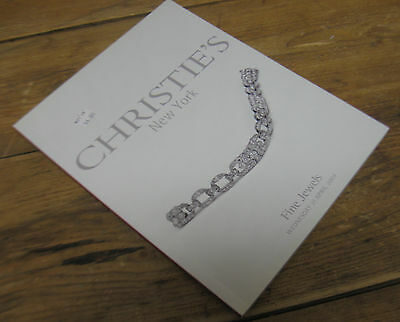 Christies Auction Catalog Fine Jewels New York Wednesday April 21 2004 Paperback