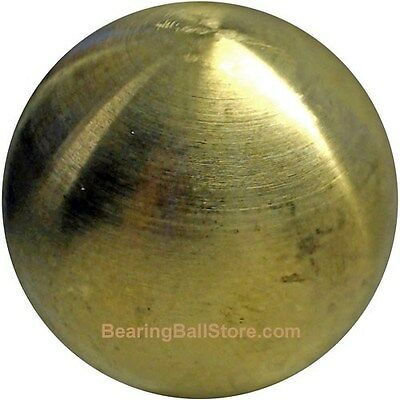 """Four  2""""   Solid brass bearing balls machined"""