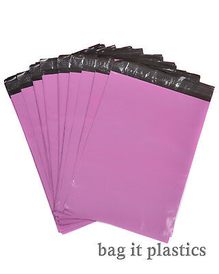 Metalic Pink Mailing Bags Postal sacks Plastic Envelopes Self Seal Post Bag