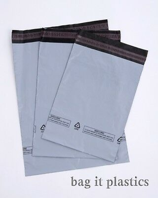 Grey Recycled Mailing Bags Postal Sacks Plastic Envelopes Post Dispatch Bag