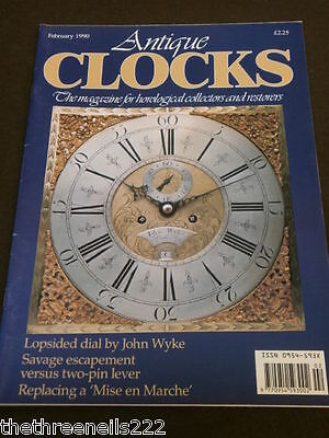 Clocks - Lopsided Dial By John Wyke - Feb 1990