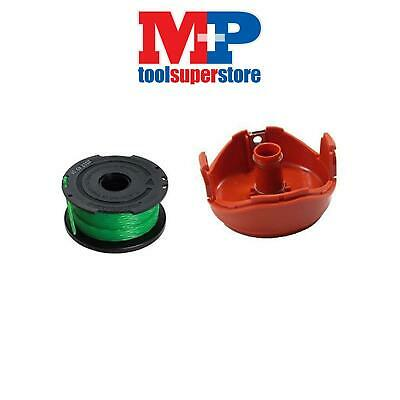 Black & Decker Strimmer Spool Line And Cap For Gl7033 Gl8033 Gl9035 Gl933