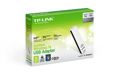 TP-LINK TL-WN821N Wireless N USB Adapter 300Mbps           Windows 10 OK