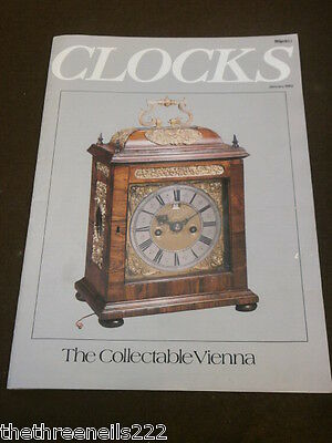 Clocks - The Collectable Vienna -  Jan 1982