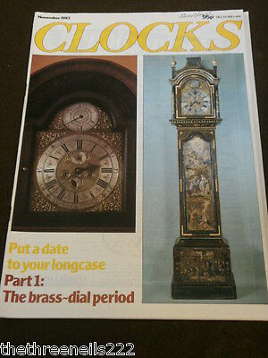 Clocks - Put A Date To Your Longcase - Nov 1982