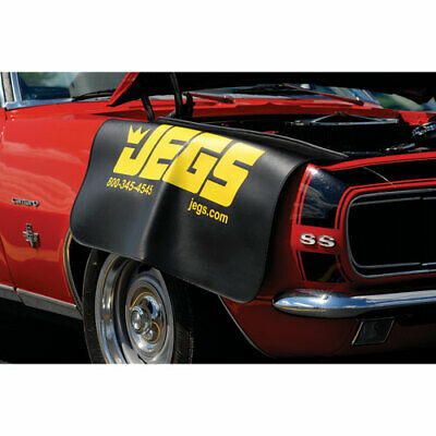 "Magnetic Fender Cover Heavy Duty Vinyl Non-Skid Backing 23"" x 34"" JEGS 65012"