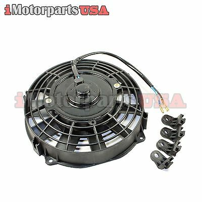 Honda Yamaha Trx 200Cc 250Cc 300Cc Atv Quad 12V Radiator Electric Cooling Fan