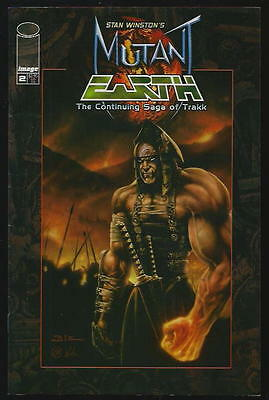 Mutant Earth <The Continuing Saga Of Trakk> Us Image Comic Vol.1 # 2/'02