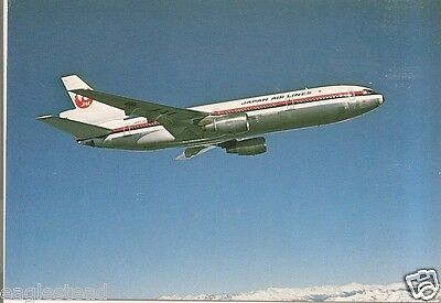 Airline Postcard - JAL - Japan Air Lines - DC-10 40 - JA8530 Pt Right (P3202)