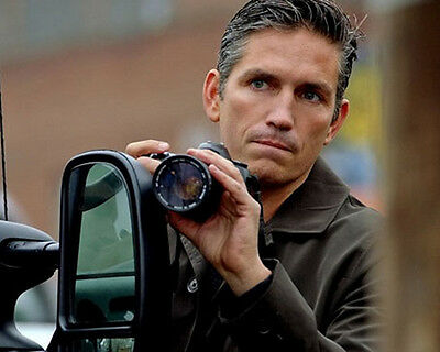 Person of Interest Jim Caviezel Camera 10x8 Photo