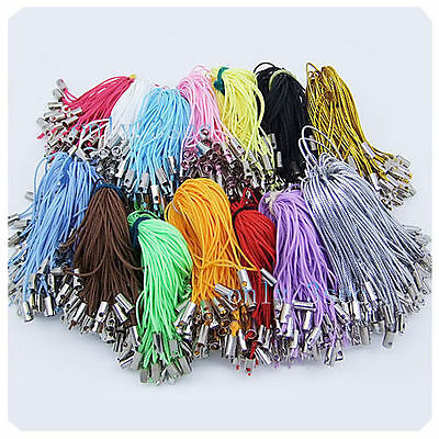 Wholesale 100 Pcs Cell Mobile Phone Dangle Strap/Lariat Charm Lanyard Cord