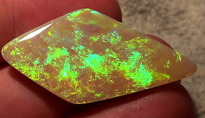 Riesiger Gem-Class Black Opal  Brillanz 5+ -Top Stein- 33,68ct. !!