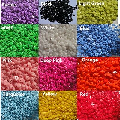 """Bulk multi Resin sewing Mini Diy doll/craft clothes button 5mm 0.2"""" Knopf Bouton"""