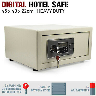 Digital Safe - Personal Electronic Hotel Security Box Home Office Keypad Access