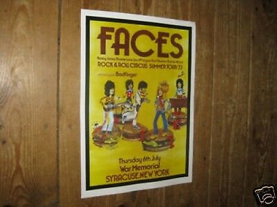 The Faces Rod Stewart Repro Tour POSTER 72