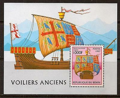 BENIN 1997 OLD SHIP SC # 1046 MNH
