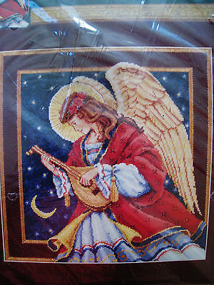 Dimensions Needlepoint Christmas Holiday Craft Kit,MELODIC ANGEL,Himsworth,2437