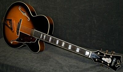 "D'ANGELICO EXL 17"" Sunburst Electric Jazz ARCHTOP"