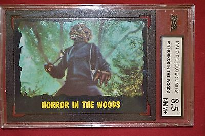 1964 Topps O Pee Chee OUTER LIMITS 13 Horror in the Woods OPC KSA 8.5 NMM+ rare