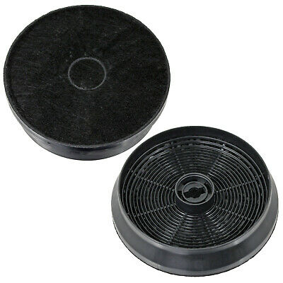 2 x Hotpoint HE6TBK HE9TIX HTC6T Charcoal Carbon Cooker Hood Filters