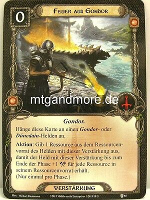 Lord of the Rings LCG The Blood of Gondor 2x Lying in Wait  #129