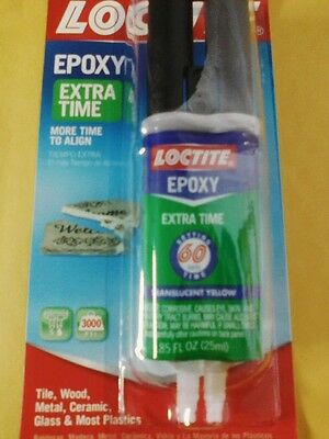 Loctite Epoxy  Extra Time .85 FL. OZ. #1405603  NEW in package