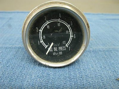 1970'S CHEVY DODGE FORD O - 100  OIL PRESSURE GAUGE  813