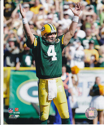 Brett Favre Green Bay Packers NFL LICENSED un-signed 8x10 Photo