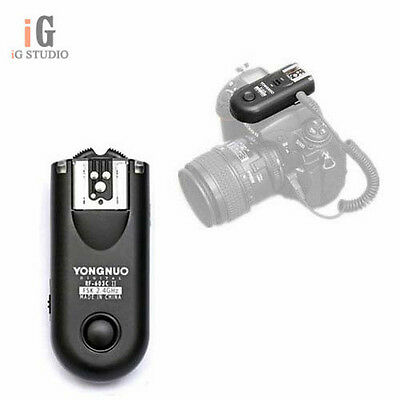 Yongnuo RF-603II 2.4GHz Wireless Remote Flash Trigger single receiver for Canon